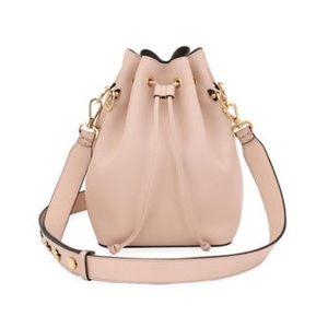 Neiman Marcus Pale Pink Bucket Bag
